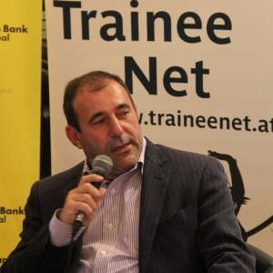 Ex-Telekom-CEO Boris Nemšić zu Gast bei TraineeNet